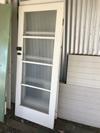 3 x PINE 4 GLASS INTERNAL DOORS